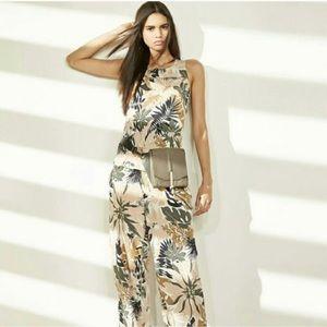 Rag & Bone Patricia Tropical Print Silk Blouse